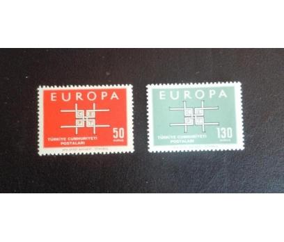 1963 AVRUPA-CEPT TAM SERİ (MNH) 1 2x