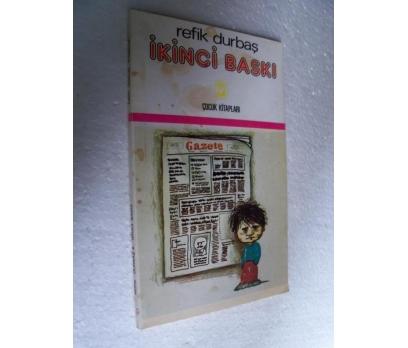 İKİNCİ BASKI - REFİK DURBAŞ cem çocuk kitapları