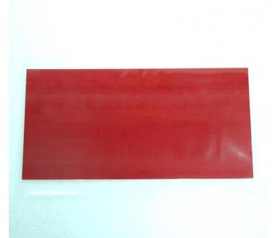 Pleksiglas - Dijital Kırmızı - 3mm - 9.5cm x 35cm