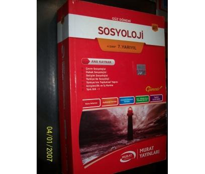 SOSYOLOJİ-4.SINIF 7.YARIYIL