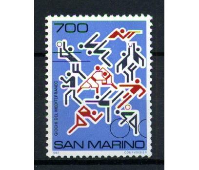 SAN MARİNO ** 1987 SPOR TAM SERİ SÜPER (170102)