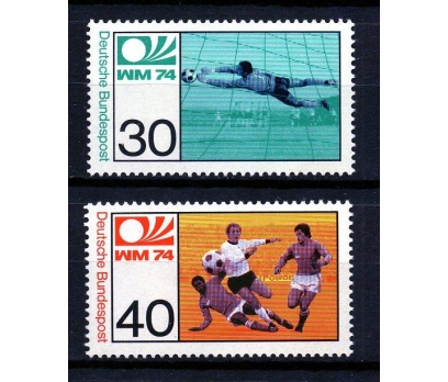 ALMANYA 1974 FUTBOL & ALMANYA 74 D.K.TAM S(160110)