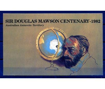 ANT.AVS.PP & FDC 1982 D.MAWSON 100 YAŞINDA (AV-5) 4