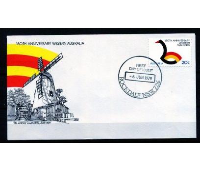 AVUSTRALYA FDC 1979 BATI AVS.150.YIL TAM S.(AV-5)