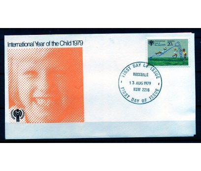 AVUSTRALYA FDC 1979 DÜNYA ÇOCUK YILI TAM S. (AV-5)