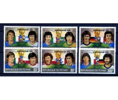 ÇAD ** 1982 FUTBOL & İSPANYA 82 D.K. TAM S(160109)