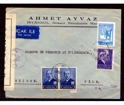 CUMHURİYET 1945 İSMET İNÖNÜ SANSÜRLÜ PGZ (K002)