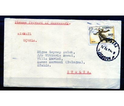 CUMHURİYET 1959 KARTAL PULUYLA PGZ (K003)