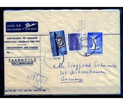 CUMHURİYET 1959 MARTI VE İLAVE PULLARLA PGZ (K003)