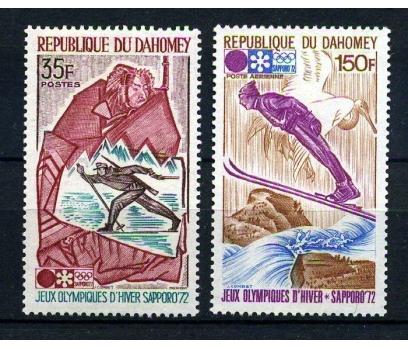 DAHOMEY** 1972 SAPPORO KIŞ OLİMP.TAM SERİ (170104)