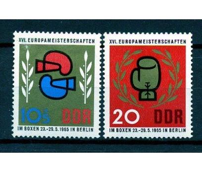 DDR ** 1965 A.BOKS ŞAMP.TAM SERİ SÜPER (160110)
