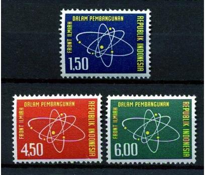 ENDONEZYA ** 1962 BİLİM YILI TAM SERİ (170110)