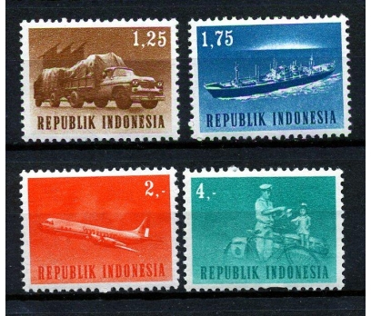 ENDONEZYA ** 1964 ULAŞIM TAM SERİ (170110)