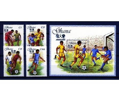 GANA ** 1986 FUTBOL & MEKSİKA 86 D.K. (160109)