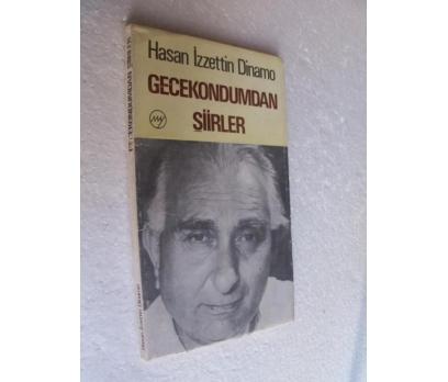 GECEKONDUMDAN ŞİİRLER Hasan İzzettin Dinamo 1.BASI