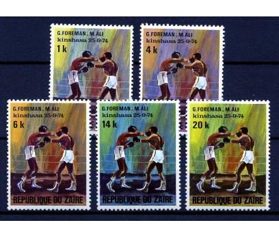 KONGO **1974 M.ALİ & FOREMAN MAÇI TAM SERİ(160110)