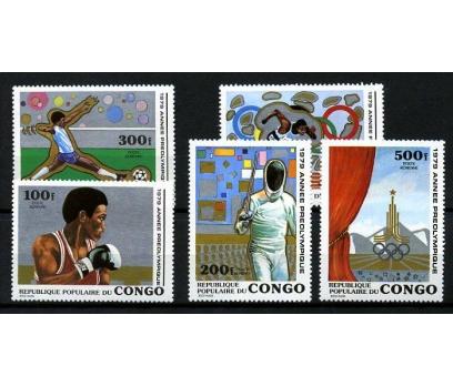 KONGO ** 1979 DÜNYA OLİMPİYAT YILI TAM S.(160109)