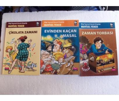 MAVİSEL YENER ÇOCUK KİTPLR imzalı ZAMAN TORBASI,.