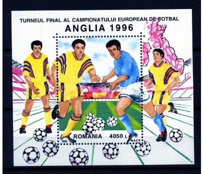 ROMANYA ** 1996 FUTBOL &DÜNYA KUPASI BLOK (160107)