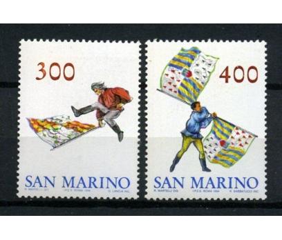SAN MARİNO ** 1984 GAMALI BAYRAK TAM SERİ (170104)
