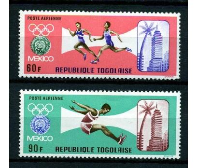 TOGO ** 1967 MEKSİKA OLİMP. SON 2 V. PA (170105)