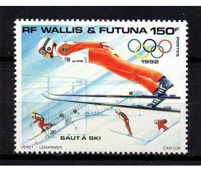 WALLIS F **1992 ALBERTVİLLE KIŞ OY. TAM S.(160107)