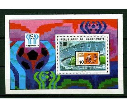 Y.VOLTA 1978 FUTBOL & ARJANTİN 78 D.K.BLOK(160110)
