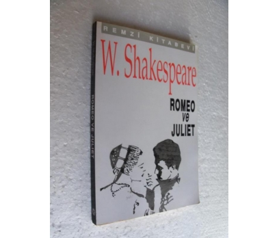 ROMEO VE JULIET WilIiam Shakespeare REMZİ KİTABEVİ