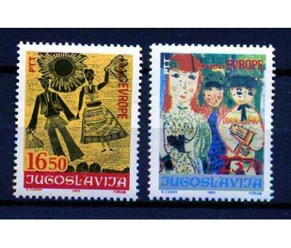 YUGOSLAVYA ** 1983 TABLOLAR & ÇOCUK TAM S(2020)