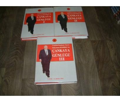 ÇANKAYA GÜNLÜĞÜ 1996 CUMHURBAŞKANI S. DEM.3 CİLT
