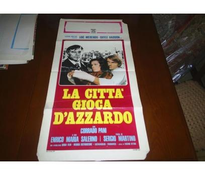LA CITTA GIOCA D AZZARDO CORRADO PANI FİLM AFİŞİ