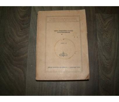 ORTA ÖĞRETİMLE İLGİLİ YÖNETMELİKLER II - 1978