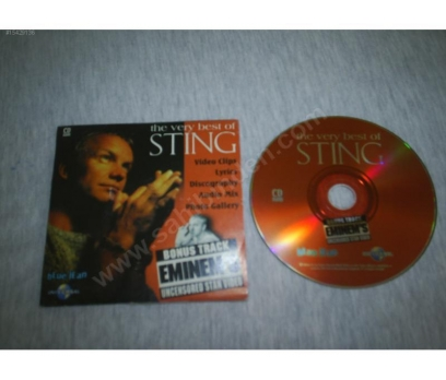 STING Blue Jean Promo Video CDRom 2000