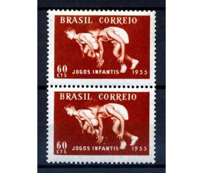 BREZİYA ** 1955 GENÇLİK OYUNLARI TAM S. PER (K007)