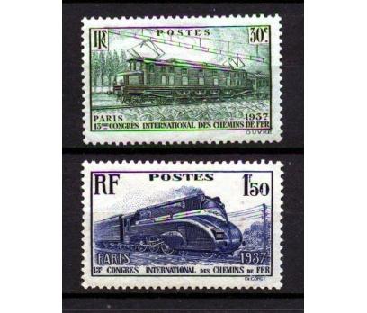 FRANSA *  1937 DEMİRYOLU KONGRESİ TAM SERİ (K007)