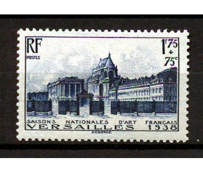 FRANSA * 1938 SANAT TARİHİ & VERSAY TAM SERİ(K007)