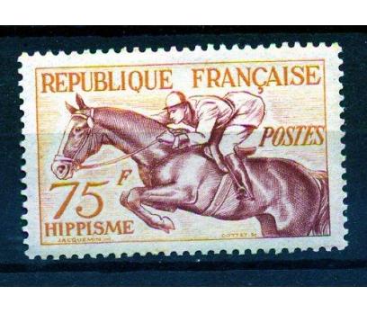 FRANSA ** 1953 BİNİCİLİK TEK VALÖR SÜPER (K006)