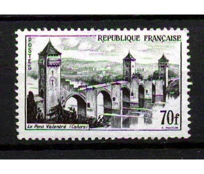 FRANSA ** 1957 CAHORS KÖPRÜSÜ SON V. SÜPER(K006)