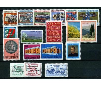 İTALYA ** 1968-69 TEMATİK 10 TAM SERİ SÜPER (K006)