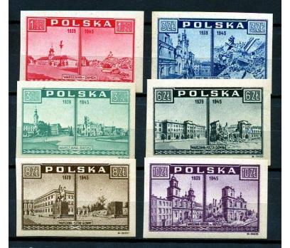 POLONYA ** 1945 VARŞOVA SUÇLUYOR SÜPER (K007)