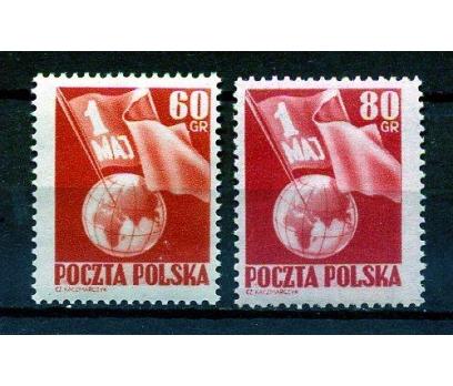 POLONYA ** 1953 1 MAYIS İŞÇİ BAYRAMI SÜPER (K007)