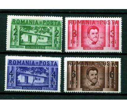 ROMANYA * 1937 YAZAR IOAN CREANGA TAM SERİ  (K007)