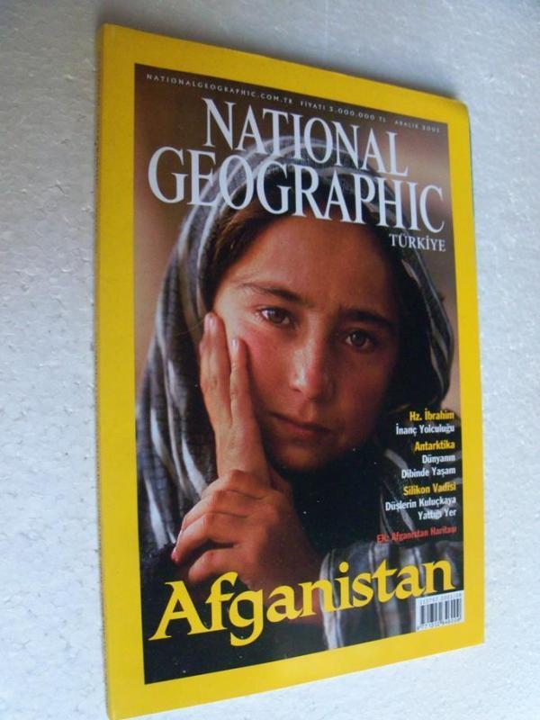 NATIONAL GEOGRAPHIC TÜRKİYE 2001 ARALIK afganistan 1