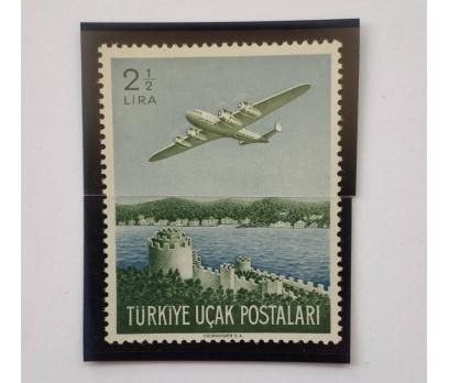 1950 2.5 LİRA UÇAK PULU TAM SERİ (MNH)