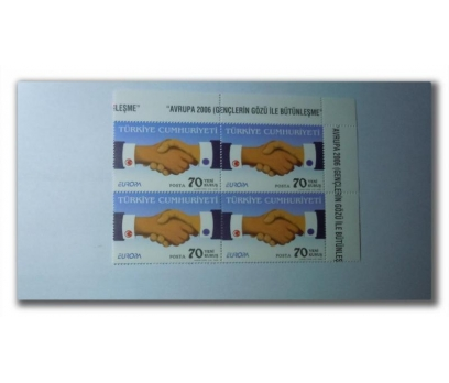 2006 Avrupa-CEPT tam seri dörtlü blok (MNH)