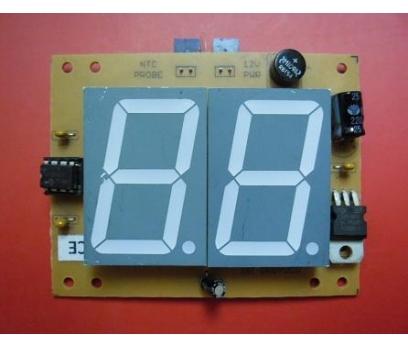 Büyük Göstergeli Ampermetre 9.9 Amper DC -1 Adet 2