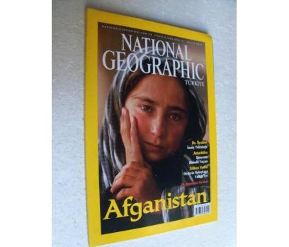 NATIONAL GEOGRAPHIC TÜRKİYE 2001 ARALIK afganistan 1 2x