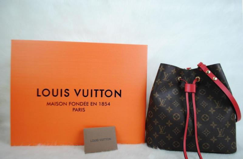 LOUIS VUITTON MONOGRAM CANVAS NEO NOE HAKİKİ DERİ 1