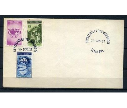 CUMH.FDC 1955 B.YOL KONGRESİ SÜPER (K005)