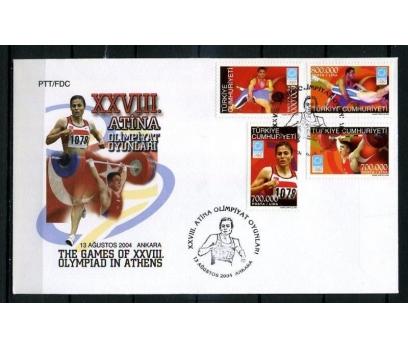 CUMH.FDC 2004 ATİNA OLİMPİYATLARI SÜPER (K013)